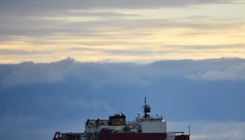 NOAA Arctic explorers sail North