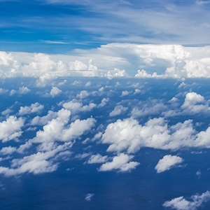 Tiny Particles Brighten Clouds in the Tropics