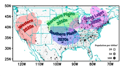 Climate change driving heat waves