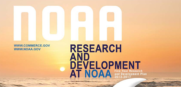 NOAA announces its five-year research and development plan