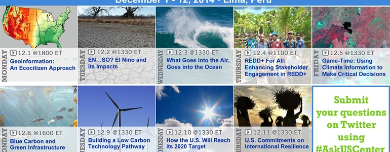 NOAA scientists to share research and resiliency tools at international climate meeting