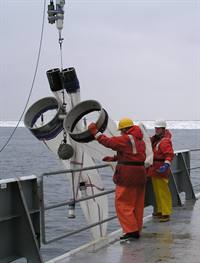 Deploying plankton nets